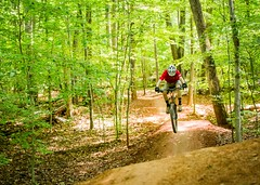 Mountain biking in Lorton, Virginia