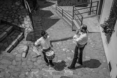 SPAIN (WeVe1) Tags: monochrome fiesta spain street musicians willyverhulst bw blackandwhite