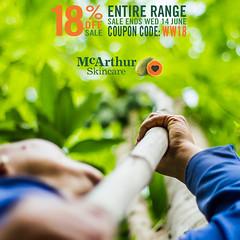 18% OFF McArthur Skincare Winter Warmer Sale (mcarthurskincare) Tags: mcarthurskincare pawpaw papaya australianmade petrochemicalfree notoxins noparabens nonasties nochemicals onsale salenowon
