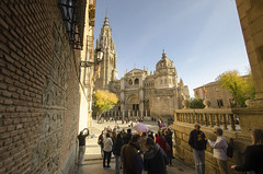 Streets of Toledo VI (rschnaible) Tags: toledo spain espana europe cathedral primada old history historical building architecture