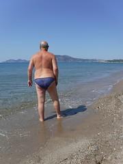 Exotic Beach, Kos (pj's memories) Tags: greece kos magicbeach exoticbeach kiniki tanthru trunks briefs beach