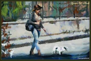 La signora con il cagnolino - Luglio-2017