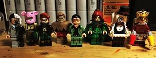 The Lego Batman Movie Concept Art Minifigs