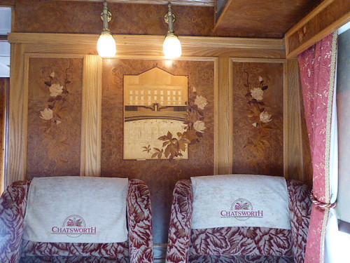 Belmond Northern Belle Interior Details