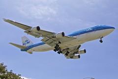 LAX/KLAX: KLM RoyalDurchAirlines B747-400 PH-BFU (Roland C.) Tags: airport airplane aircraft boeing lax klax losangeles losangelesinternational california usa