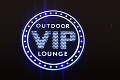 VIP Lounge (goodfella2459) Tags: nikon f4 af nikkor 50mm f14d lens cinestill 800t 35mm c41 film vip lounge sign sydney night streets city colours lights milf