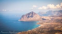 The Mountain (Francesco Impellizzeri) Tags: trapani sicilia sicily mountain clouds sea
