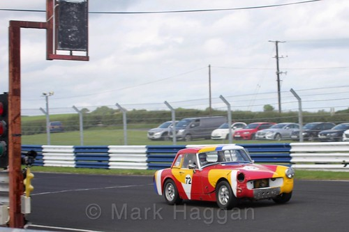 Wolfgang Schnittger in the HRCA Historic Sports Cars at Kirkistown, June 2017