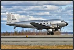 N583V Airborne Inaging (Bob Garrard) Tags: n583v airborne imaging douglas c47a dc3 c47 raf royal air force kg560 anc panc cfeso imperial oil