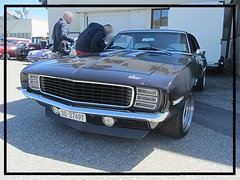 Chevrolet Camaro 350, 1969 (v8dub) Tags: chevrolet camaro 350 1969 chevy schweiz suisse switzerland bleienbach american gm pkw voiture car wagen worldcars auto automobile automotive muscle pony old oldtimer oldcar klassik classic collector v8