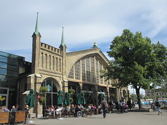 Centralstation, west entrance, Gothenburg, Sweden (Paul McClure DC) Tags: gothenburg sweden sverige july2015 göteborg historic architecture