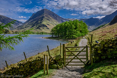 Part of the circular Buttermere footpath. (steve.gombocz) Tags: sceneryshooting simplylandscapes landscapes cumbria westcumbria colour colours color colourmania natureisbeautiful lakedistrict lakedistrictuk out outandabout outdoors landscapephotos landscapephotograph landscapephotography water reservoir scenery landscapescenes mountains hills fells crags trees wood buttermere nature natureviews lakescenes landscapepictures nicepictures nicelandscapes flickrlandscapes flickrscenery explorelandscapes explorescenery explorelakes lakes stonewall wall fence gate grass sky clouds nikon nikonusers nikond810 nikon2401200mmf40 nikoneurope nikoncamera nikonfx