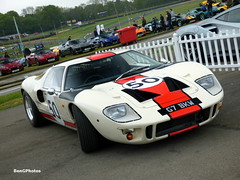 GT40 (BenGPhotos) Tags: 2017 blancpain gt series sprint cup brands hatch supercar display white red ford gt40 mk1 v8 classic historic race racing car g7bkw