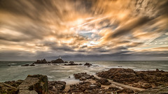 Jersey Sunset (erictrehet) Tags: extérieur eau rivage paysage hoya lumière nuage fullframe sunset nikon nikkor poselongue sea sky d610 fx hiver jersey nikonpassion landscape light littoral longexposure winter ciel couleur cloud color coucherdesoleil calme vent