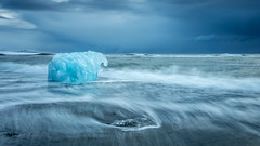 Ice Elephant (Mika Laitinen) Tags: canon5dmarkiv diamondbeach europe iceland jökulsárlón leefilters blue cloud cold color ice landscape nature outdoors sea seascape sky water wave easternregion is
