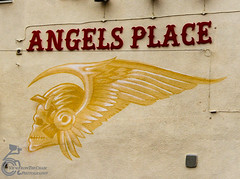 Angels 3 (View From The Chair Photography) Tags: art streetart cludhouse hellsangels bikeclub