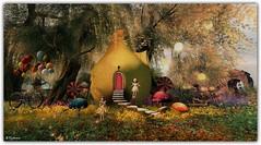 Storybrooke 1 (Sparkie Cyberstar) Tags: windlight secondlife secondlfe virtualworld fairytale tint