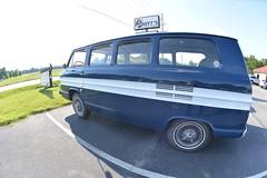 Classic Cars Corvair Club Hoyt's Restaurant Lexington, NC 20170710_4240 (Shane's Flying Disc Show) Tags: classiccars corvairclub davidson nc lexinton unsafeatanyspeed daredevils