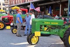 IMG_5590 (Nebraska Farm Bureau) Tags: tractor show car antique classic lincoln haymarket ag night agriculture nebraska farm bureau nefb nfbf lancaster county financial services john deere farmall case ih model