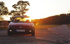 Passat (DavidKlaman Photo) Tags: sun sunset road car stance stanceworks stancenation airride vw volkswagen passat gt