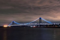 The Verrazano-Narrows Bridge (laurenemma8) Tags: verrazano narrows bridge brooklyn new york ny nighttime