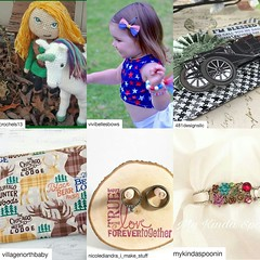 Monday Mention! I am mentioning the past Sunday Shares I have done to review the wonderful creators on Instagram. Please take a moment to visit and follow each one. They are all outstanding people & creators. Check out their Etsy pages for the awesome mus (christinahunt-schubnell) Tags: journal babies vintage newborn birthday keychain folklore receivingblanket spoonjewelry scrapbook fantasy underthesea floralcrown mermaid baby handstamped spoonbracelet crochet wedding handmade hippiejewelry metalstamping scrapbooking notepad weddings geekery ariel littlemermaid hippie enchanted