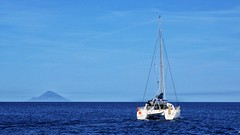 Relax (Luc1659) Tags: eolie mare vacanza relax barca sole estate summer sea boat blu isola