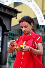 Candid Street Shots..... Rishikesh (pallab seth) Tags: puja offerings ritual culture woman holywater candid colour pilgrimage devotee holydip rishikesh dehradun uttarakhand india river ganga ganges sage priest hinduism religion religious spiritual temple heritage indian women pilgrim