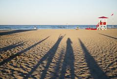 looking forward (monicacastigliego) Tags: mare sea beach spiaggia torretta turrert shadows fujixpro1 35mm14 apsc