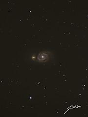 Whirlpool Galaxy M51 (jesse-weder) Tags: whirlpool galaxy messier m51