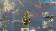 Custom LEGO Guardians of the Galaxy Vol 2: Baby Groot (lego wolf 42299) Tags: lego marvel custom