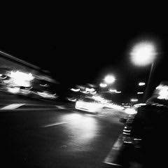 street king~ (andy961688) Tags: blackandwhitephotography blackandwhite black white bw iphoneography iphone4 iphone outofthephone mobilephotography camera phone cameraphone awesome cool grainy gloomy groovy moody motion blur slow shutter speed abstract art dark moving car night lights crazy fun tilt pointandshoot square streetphotography street