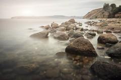 baltic sea (blende einspunktacht) Tags: rocks landscape landschaft sea balticsea ostseeküste ostseeliebe ostsee water light beach strand nature freedom
