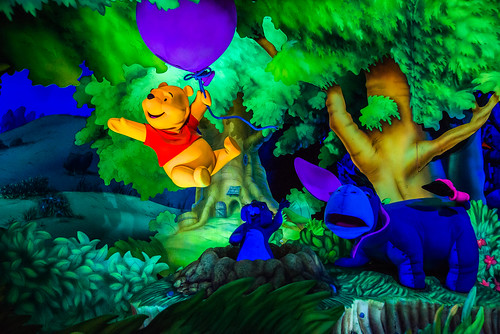 The Many Adventures of Winnie the Pooh in Disneyland