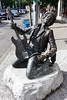 Can't go to Seattle without paying tribute to Jimi (scienceduck) Tags: 2017 june seattle washington usa us america pacific northwest scienceduck jimi hendrix jimihendrix statue art guitar god