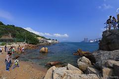 Lei Yue Mun Coast Light Tower (tomosang R32m) Tags: 鯉魚門 leiyuemun kowloon hongkong 油塘 香港 九龍 yautong seafoodmarket fishingvillage leiyuemuncoastlighttower coast lighttower 鯉魚門燈塔 灯台 mawantsuen 馬環村 samkatsuen