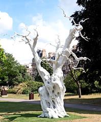 Ugo Rondinone Summer moon 2011 (Russtafa) Tags: sculpture statue frieze fair london regents park