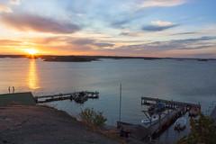 Sunset 1 (sarahjarne) Tags: archipelago sea sunset sky colors summer