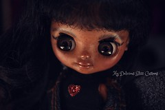 Lily (mydeliciousbliss) Tags: petite blythe petiteblythe custompetite customepetiteblythe plumblossom takarablythe blythedoll mydeliciousbliss mydeliciousblisscustoms miniatures