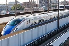 Hokuriku Shinkansen E7 series 002 (A.S. Kevin N.V.M.M. Chung) Tags: train rail japan omiya jr shinkansen highspeedrailway