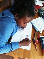 Día 4 . Empezamos a decorar nuestros cuadernos 06