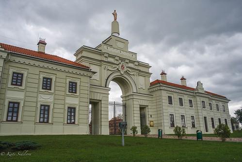 Sapieha Palace, Entrance