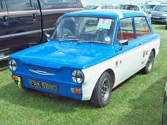 957 Hillman Imp Deluxe (1966) (robertknight16) Tags: hillman british 1960s imp rootes silverstone frk588d