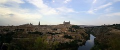Toledo, Spain (postcards from a pilgrim) Tags: toledo spain panorama