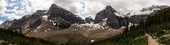 Plain of Six Glaciers panorma (tylerhuestis) Tags: banff banffnationalpark alberta canada canada150 lake louise plainofsixglaciers glacier mountains rockymountains rockies
