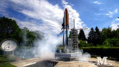 Space rocket (Mr. Oliver976) Tags: space weltraum rocket rakete outerspace minimundus kärnten carinthia österrreich austria modell miniatur miniaturpark raketenstart countdown finalcountdown canon 6d