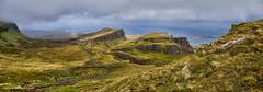 Quiraing panorama (Tatters ✾) Tags: scotland quiraing skye stitch pano panorama innerhebrides notes highland oloneo