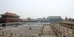 故宫 Smoggy Forbidden City (Giorgia Paleari) Tags: travelling beijing beautiful beautifulplaces china