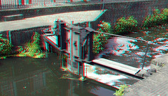 Grote Spui Amersfoort 3D (wim hoppenbrouwers) Tags: grote spui amersfoort 3d grotespui amersfoort3d anaglyph stereo redcyan