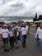IMG-20170704-WA0023 (mevlutdudu) Tags: adalet yürüyüşü 20 gün av mevlüt dudu chp pm üyeleri ile yürüyüş